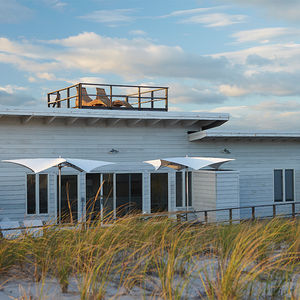 a new lease fire island exterior roof deck