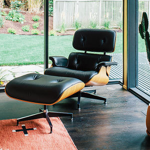 midcentury renewal george nelson bubble lamp eames lounge