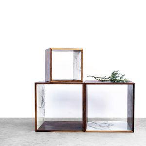 2131 collection 2131 walnut and marble storage cube enviro 4