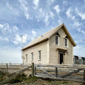 chebogue schoolhouse exterior