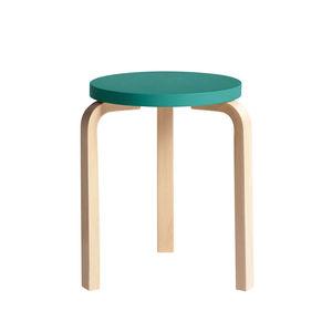 artek 60 stool specialanniversary teal birch silo rev 1