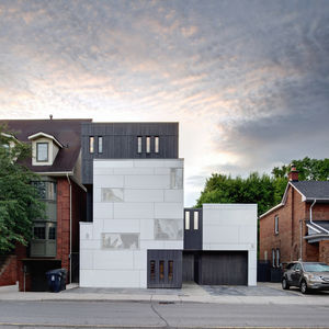 Cruickshank Mount Pleasant House front exterior, Toronto