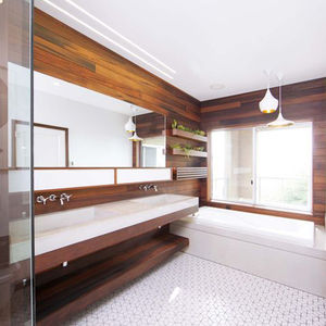 wooden bathroom renovation san francisco