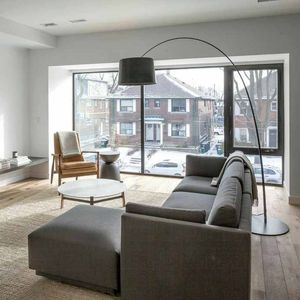 toronto triplex living room