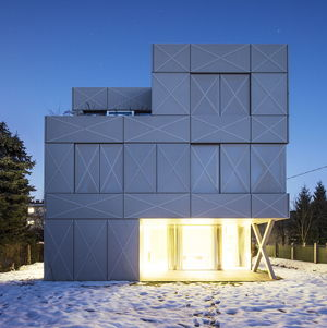 villa criss cross in slovenia