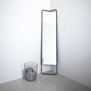 menu kaschkasch floor mirror black enviro