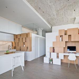 Brooklyn renovation with glass walls