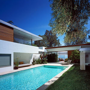 neutra renovation exterior rear