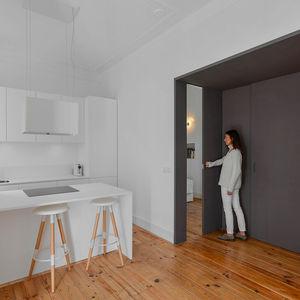 casa na kitchen gray sliding wall  0