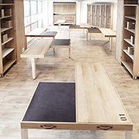 Les Ateliers Tristan & Sagitta 1 Table – 6 Layouts