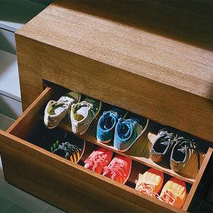 object lesson san francisco renovation hidden storage shoe drawers mezzanine floor