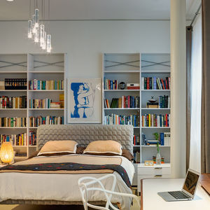 dumbo residence master bedroom philippe starck8