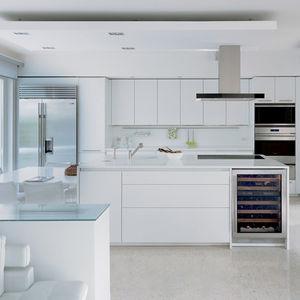 sub zero white kitchen