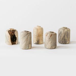 buckeye burl wood vases