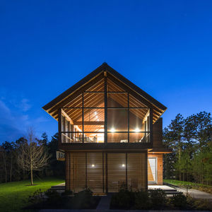 cape cod cabin exteior two story