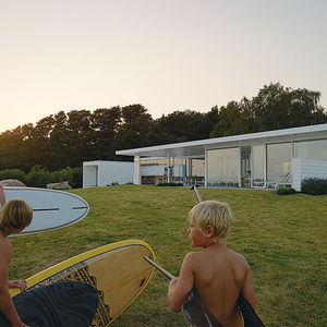 surf and turf sweden family dream getaway facade glass roof rec