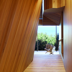 fairhaven beach house corridor blackbutt eucalyptus