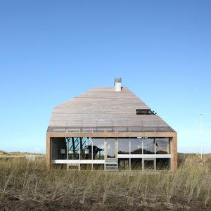 netherlands dune house wood exterior