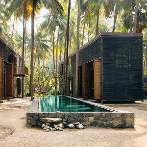 bijoy jain mumbai palmyra house louvers lap pool