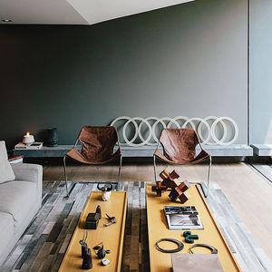 concrete jungle living room a