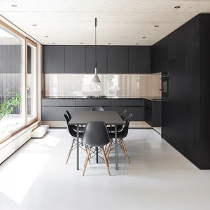 munich house dining room kitchen