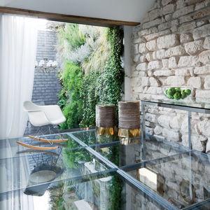 rue vignon upstairs glass floor