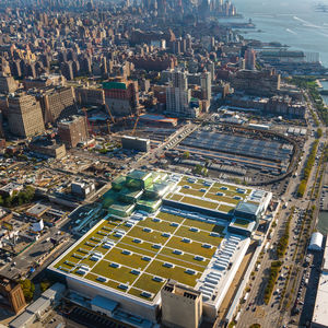 Javits Center NYC green roof