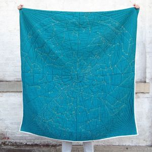 Constellation Quilt Designed by Emily Fischer for Haptic Lab