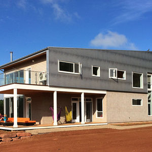 Modern home on Prince Edward's Island.