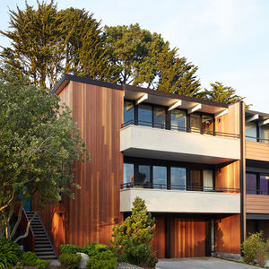 Two-story Eichler residence in San Francisco