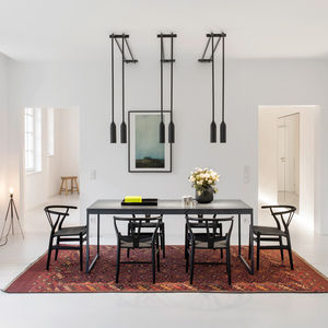 Berlin apartment with a modern dining room