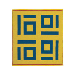 Four Tens Rug by Nancy Kennedy Designs, made in Eureka, California.