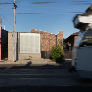 Bridge House 2 brick facade street