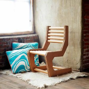 DIY Cardboard Cantilever Chair