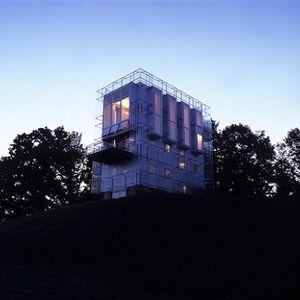 Chameleon House metallic exterior