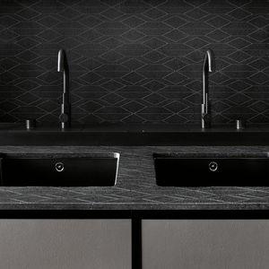 finish line kitchen appliance color palette salinas system patricia uquiola boffi matte black steel