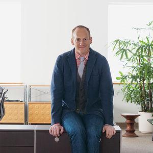 helping hands design leaders ben watson herman miller portrait