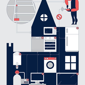 Home Security Illustration 6