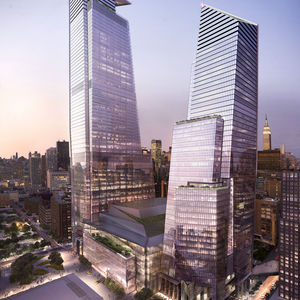 Hudson Yards with retail looking from the northeast, ©Related-Oxford.