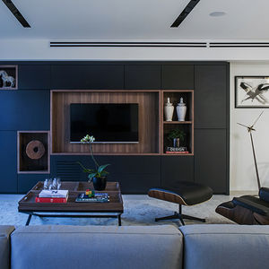Living room in a Tel Aviv apartment
