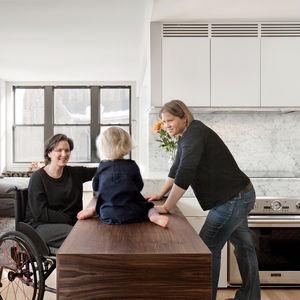 open table boston kitchen renovation wheelchair accessible