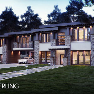 Point Zero Sterling house rendering.