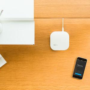power to the people router range extender eero desk top down