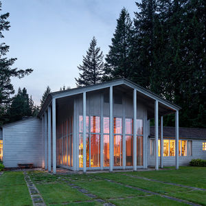 The Aubrey Watzek House in Portland designed by John Yeon