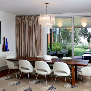 Los Angeles Ranch House Dining Room