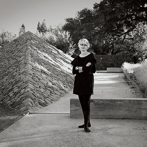romancing the stone andrea cochran landscape architect portrait