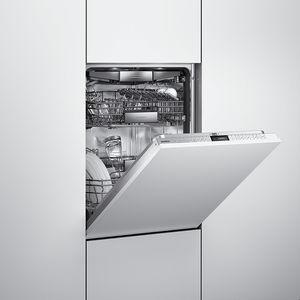 slim pickings streamlined kitchen appliances narrow dishwasher gaggenau lcd panel