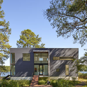 Modern home on a Maryland estuary.