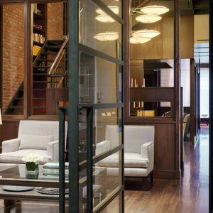 New York duplex foyer