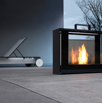 Conmoto travelmate fireplace